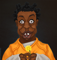 Crazy Eyes - Orange is the New Black by WonderDookie