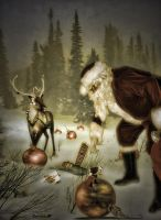 Hurries of Santa Claus by Ruskatukka