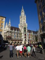 munich town hall by NIC0RE