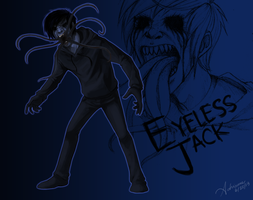 My version of Eyeless Jack Unmasked by SUCHanARTIST13