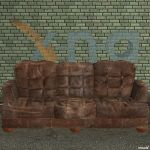 XNA Leather Sofa by X-N-A