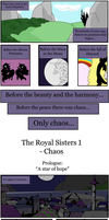 The Royal Sisters 1 - Chaos: Prologue part 1 by Troglodytten