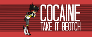 Gimmie cocaine nao by BabcinyPasztet
