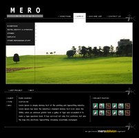 'Mero Design' Web Site by jarusalem