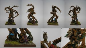 Wood Elf Treeman by DrifterUK