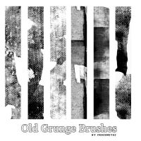 Old Grunge Brushes by AlenaJay