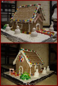 Gingerbread House 07 by amuseformeg