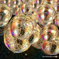 JEWELLED PLANETS by GeaAusten