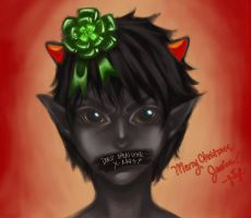 Have a Homestuck Christmas by Kreiois