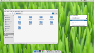 SimplySmooth GTK2 and Emerald by whyzee7
