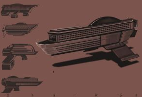 Space Cruiseship by CharReed