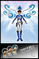 Blue Goseiger by Anzhelee