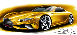 Audi concept coupe by trebeisChrisH