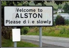 Velcome to ALSTON please die slowly by boeingboeing2