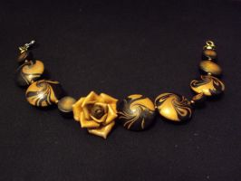 Golden rose by oione