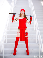 MegaCon 2014: Elektra by ShortFusePinups