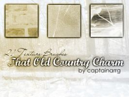 Country Charm texture brushes by captainarrg