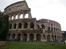 Il Colosseo 1 by shadow-wolf04