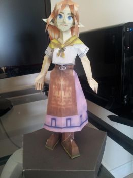 Paper Adult Malon/ Cremia. by GreatMasterofChibis