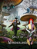 Sally in Wonderland Poster by Sibbs00000