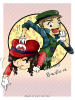 Me and my bro by P0lnoch