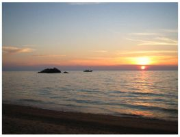 Tioman Sunset series - 3 by wretchedness