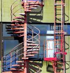 stair and ladder by Mittelfranke