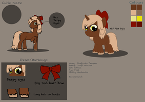 Pembroke Pawpaw Reference sheet for Star-Feather by hoshi-kou