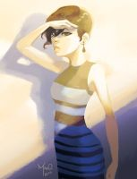 The Dress by CONEJOTO