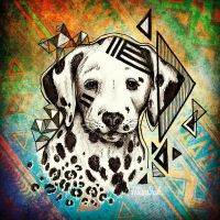 Hipster Dalmatier by Man0uk