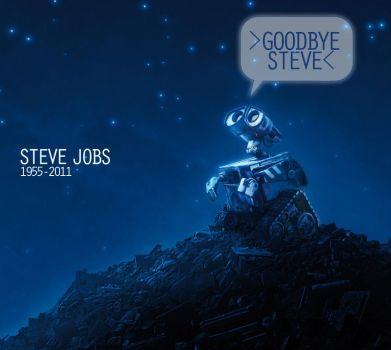 RIP Steve Jobs by wiledog