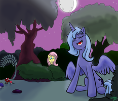 Singing with the Moon by Silent-nona-light