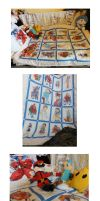 Street fighter quilt n_n by Shadaloo1989