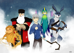 Rise of the Guardians by The-Poumi
