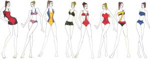 Avengers Bathing Suits by Evellynn