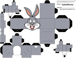 Cubee - Bugs Bunny by CyberDrone