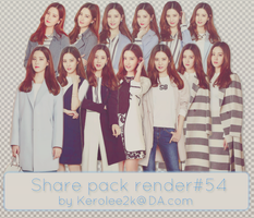 Share pack render #54 Seohyun SNSD by KeroLee2k