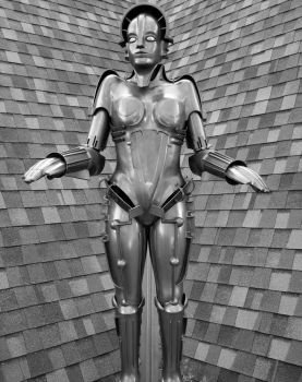 The Metropolis Robot by Apelord55