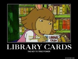 Library Card by Scarecrow113