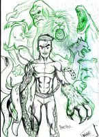 BEAST BOY  sketch1 by Dekka-93