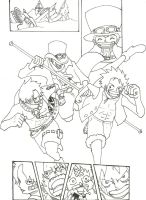 Luffy, Ace, Sabo WIP by CAP7AIN-TEZZ-VII