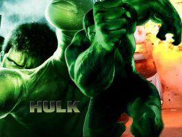 Hulk by barefootink