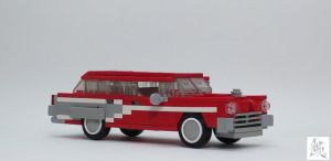 1950's Station Wagon by spanglidermish