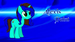 Wallpaper Its Alexis Paint by Barrfind