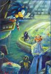 'Thank you!' - Sonic and Dr. Kintobor -  by Liris by Liris-san