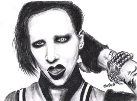 Marilyn Manson by e-l-see