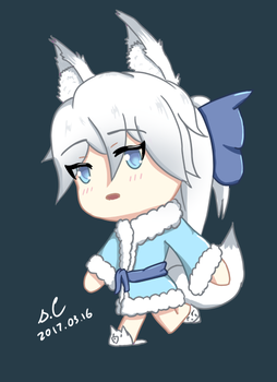 Sherry Chibi [Official Mascot] by s-Claw