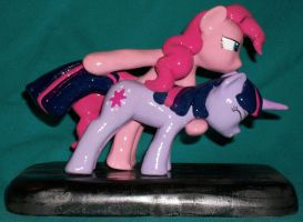 Pinkie Pie and Twilight Sparkle GUN Custom 1 by MadPonyScientist