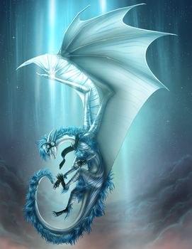 Ice Rising by Bluehasia
