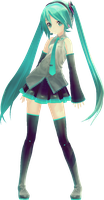 Miku Hatsune Appearance by HelioSWillers